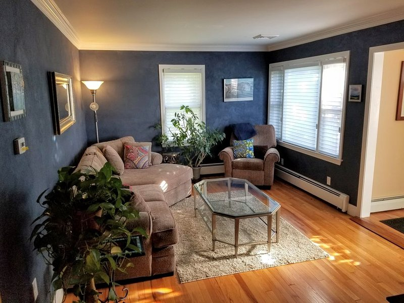 Cute West Side Cape - Privacy for Track/SPAC Season, vacation rental in Saratoga Springs