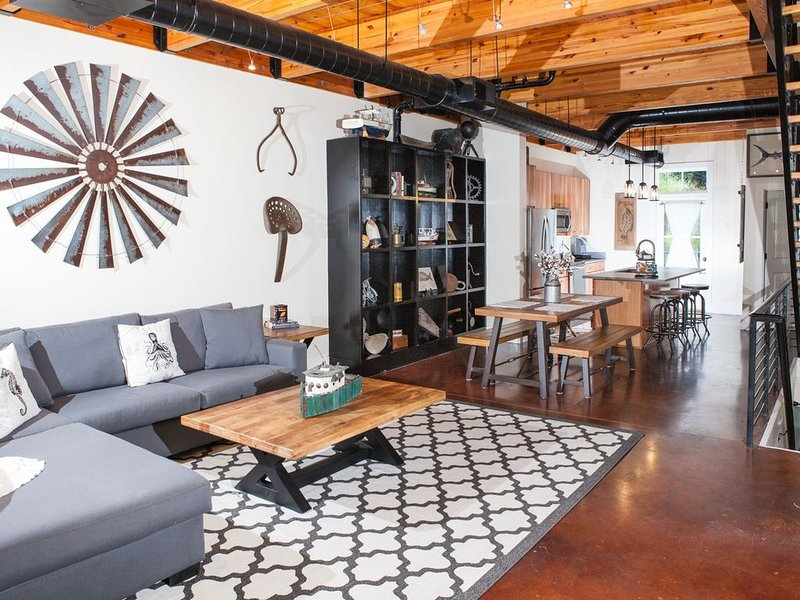 The Habersham Loft in Beaufort South Carolina, vacation rental in Beaufort