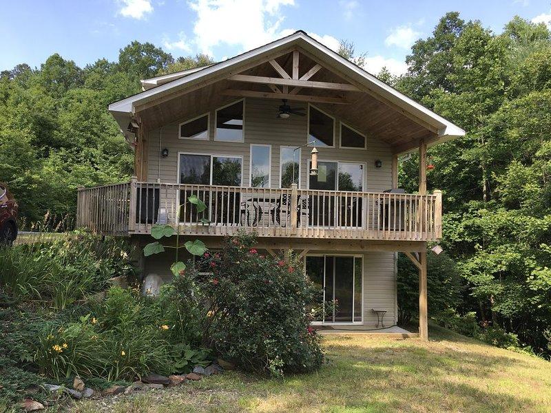 Mountain Home at Bear Paw on Lake Hiwassee, holiday rental in Murphy