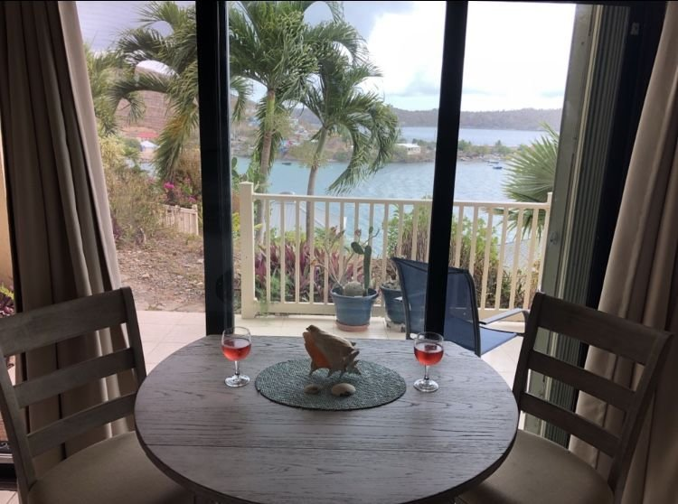 Enjoy dining in with amazing views.