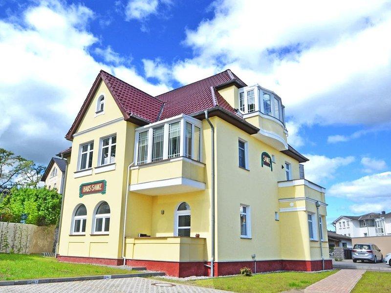 Villa Sanke - Appartement Seeblick, holiday rental in Seebad Ahlbeck