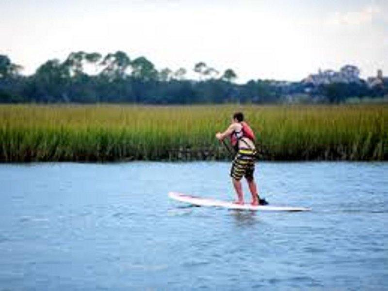 Paddle Boarding - Kiawah Riiver