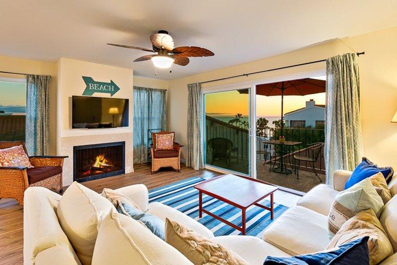 Condo w/ Ocean + Pier Views, Walk to Beach + Dining, location de vacances à San Onofre