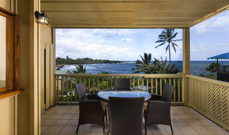 Hana Kai Maui - Oceanview 'Kaʻuiki' (Unit #101) Corner - Amazing View!, holiday rental in Hana