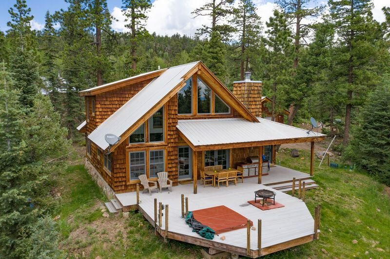 A little corner of heaven in the heart of the mountains of Colorado., location de vacances à Rico