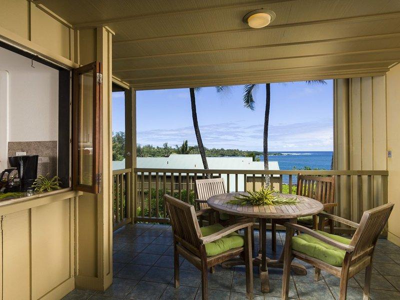 Hana Kai Maui - Oceanview 'Haneoʻo' (Unit #104) Great View - Easy Access!, holiday rental in Hana