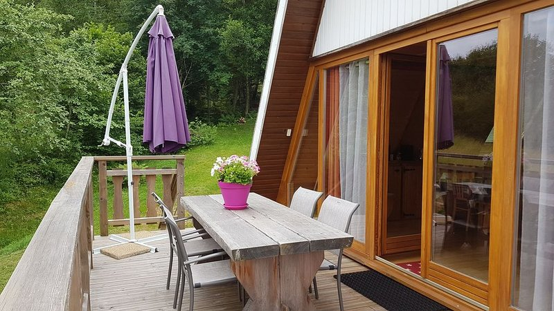 Chalet fireweed quiet, with beautiful views of the valley, (week and weekend), vacation rental in Xonrupt-Longemer