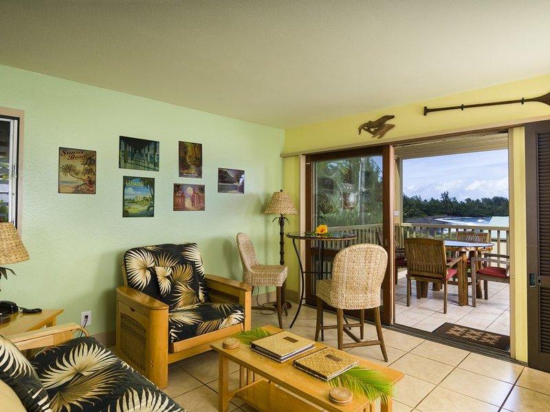 Hana Kai Maui - Partial Oceanview 'Kama' (Unit #107) Lower Corner, holiday rental in Hana