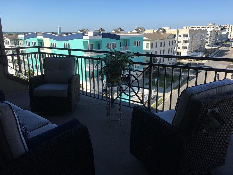 Spectacular Ocean & Bay views. Pristine upscale 2000 sq ft 3 bedroom beauty!, vacation rental in Wildwood Crest