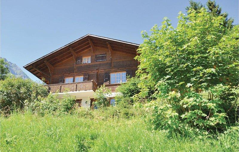 2 Zimmer Unterkunft in Jaun, vacation rental in La Gruyere