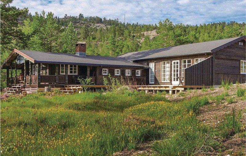 5 Zimmer Unterkunft in Treungen, Ferienwohnung in Nissedal Municipality