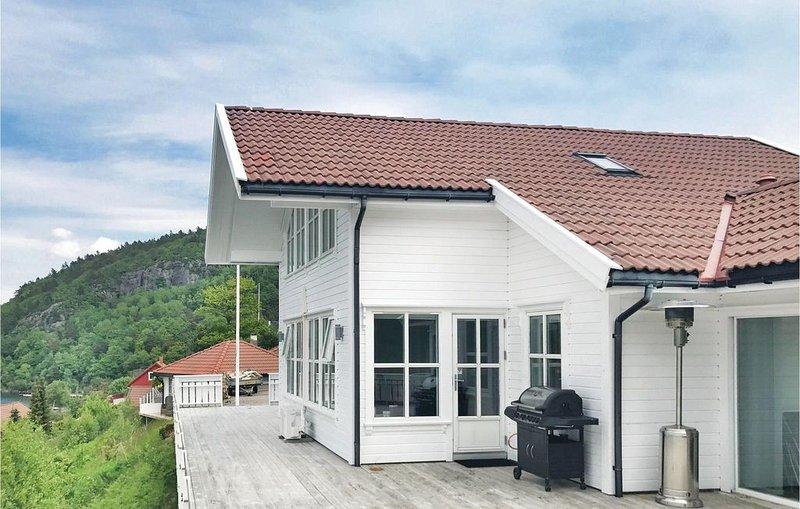 4 Zimmer Unterkunft in Lindesnes, location de vacances à Mandal Municipality