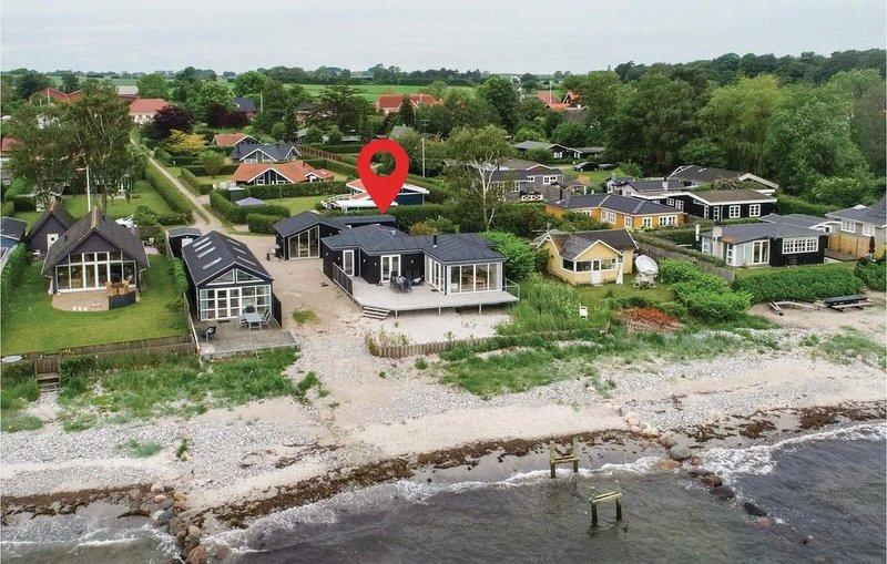 3 Zimmer Unterkunft in Nyborg, holiday rental in Korsoer