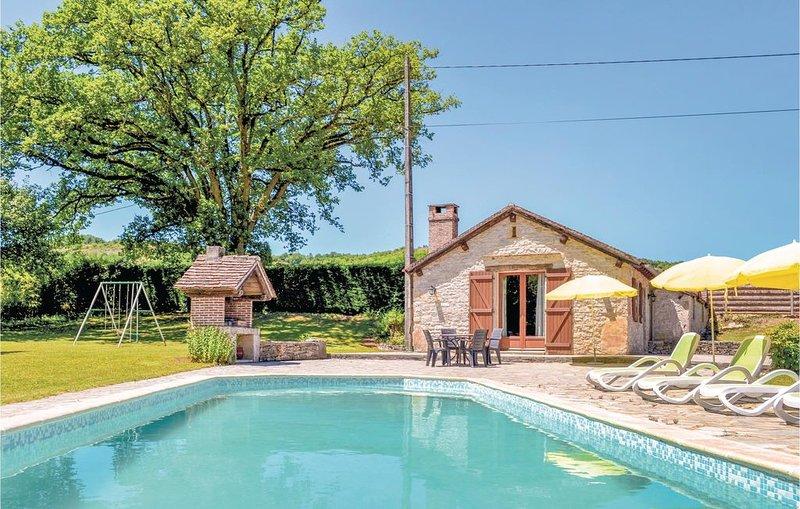 2 Zimmer Unterkunft in Cadrieu, holiday rental in Ambeyrac