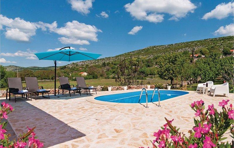 2 Zimmer Unterkunft in Brstanovo, vacation rental in Neoric