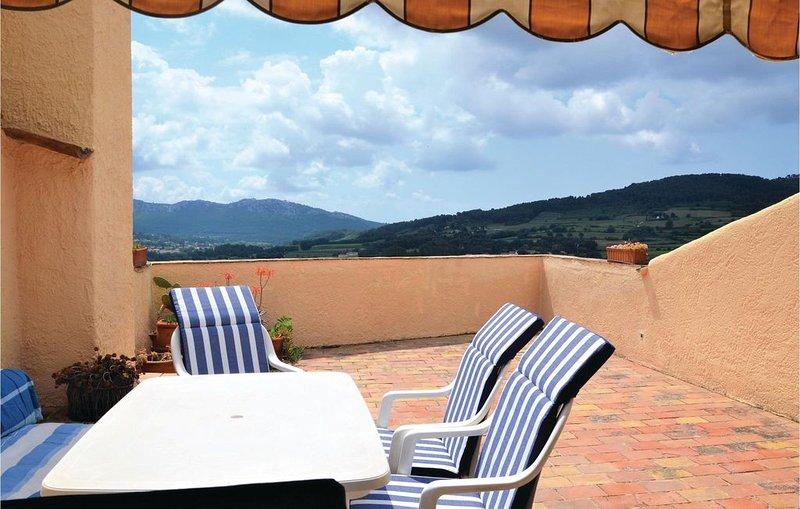 3 Zimmer Unterkunft in La Cadière-d'Azur, holiday rental in La Cadiere d'Azur