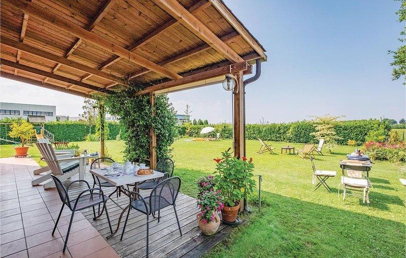 4 Zimmer Unterkunft in S. B. di Callalta TV, vacation rental in Zenson di Piave