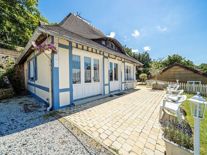 maison de vacances calme et agréable - ancienne poterie, location de vacances à Dozulé