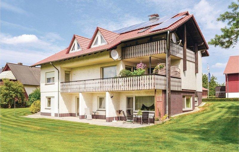 3 Zimmer Unterkunft in Breuna, holiday rental in Breuna