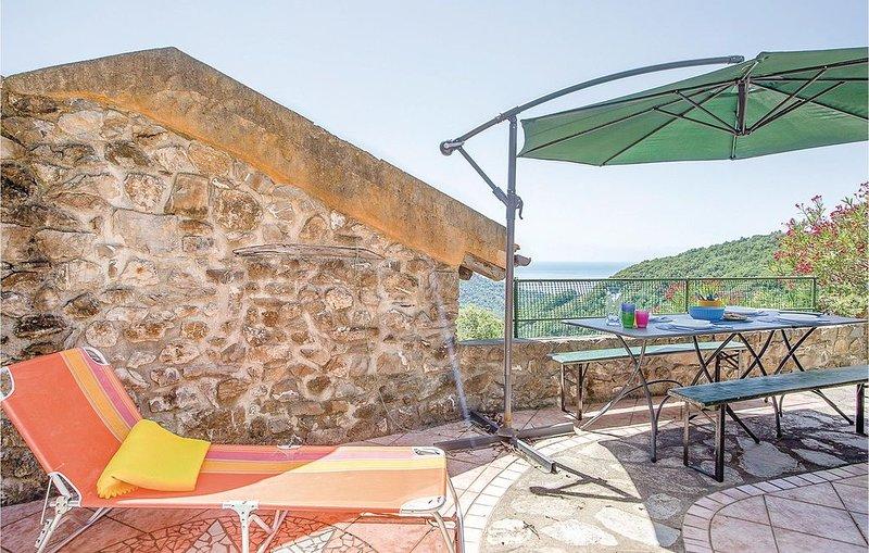 1 Zimmer Unterkunft in Moneglia (GE), holiday rental in Tavarone