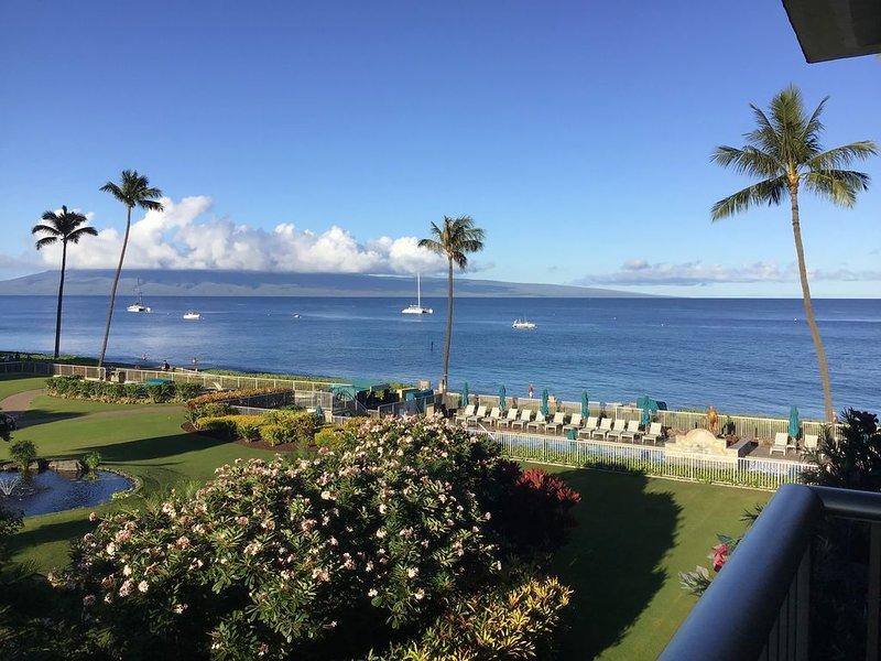 Stunning Ocean View Studio  41 of 42 reviews 5 Stars!, alquiler vacacional en Ka'anapali