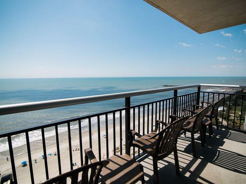 LAST MINUTE RATE,Direct Oceanfront 3BR/3BA, On Boardwalk,Corner, Central locatio, aluguéis de temporada em Myrtle Beach
