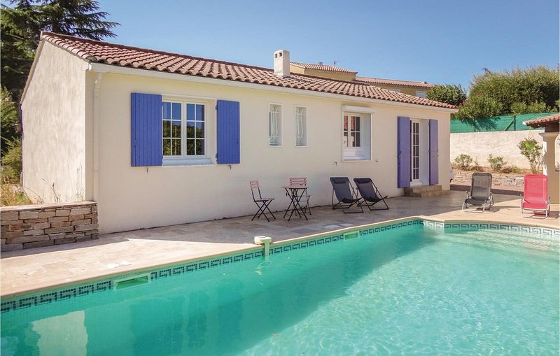 2 Zimmer Unterkunft in Montagnac, vacation rental in Usclas-d'Herault