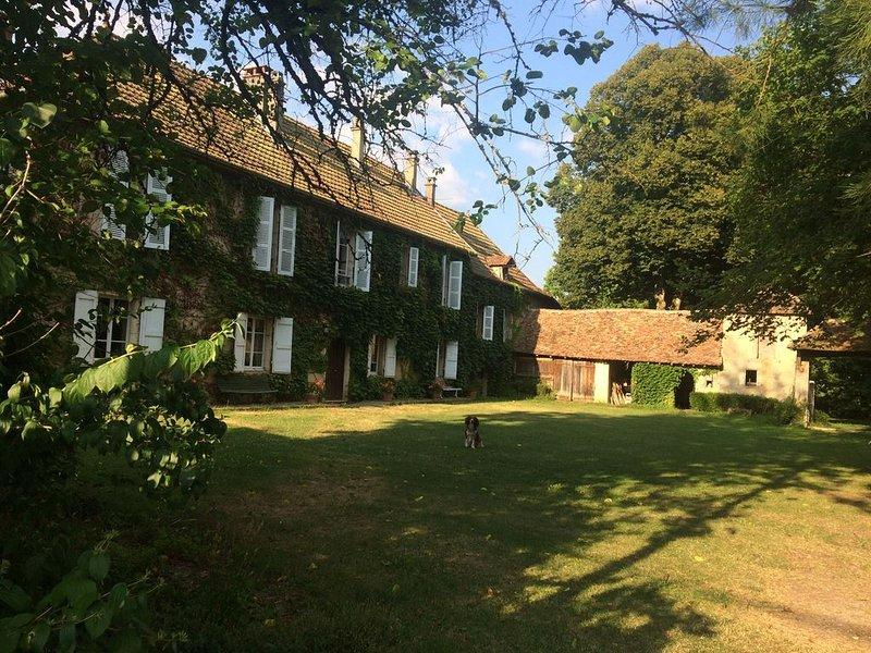 Grande Maison de charme sur 5000m2 de terrain clos et arboré à Rothonod, vacation rental in Saint-Bois