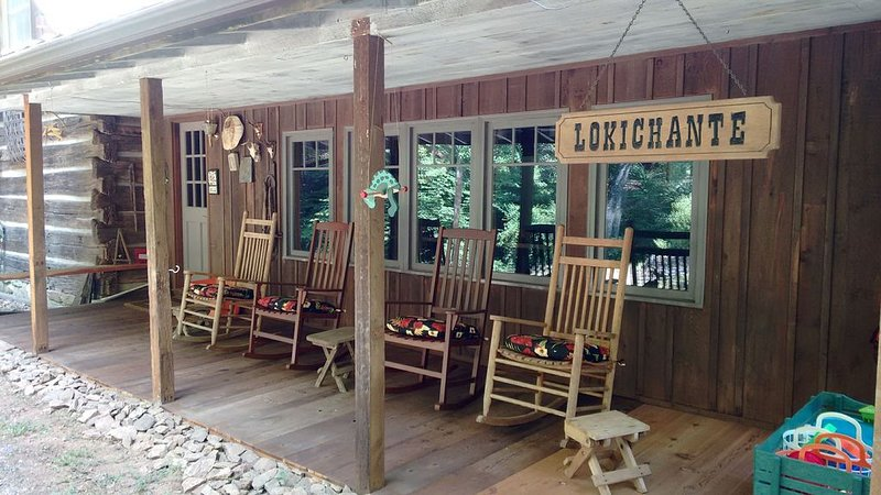 Front Porch with Rockers