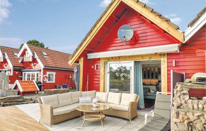 1 Zimmer Unterkunft in Søgne, holiday rental in Kristiansand