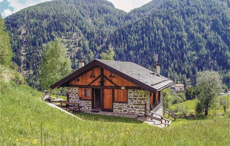 3 Zimmer Unterkunft in Peio Terme -TN-, holiday rental in Comasine