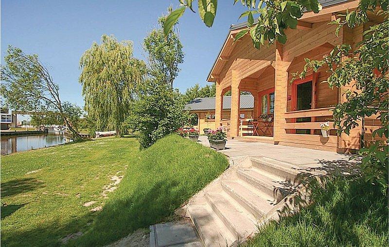 2 Zimmer Unterkunft in Zoutkamp, casa vacanza a Lettelbert