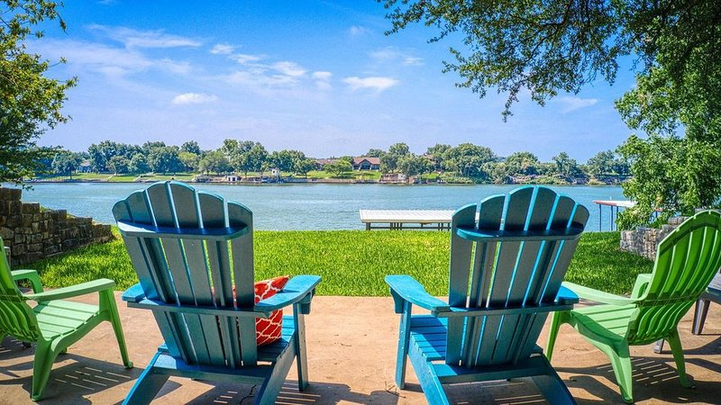 Open Water On Lake LBJ - Llano Arm With Boat Lift And Jet Ski Ramps, holiday rental in Kingsland