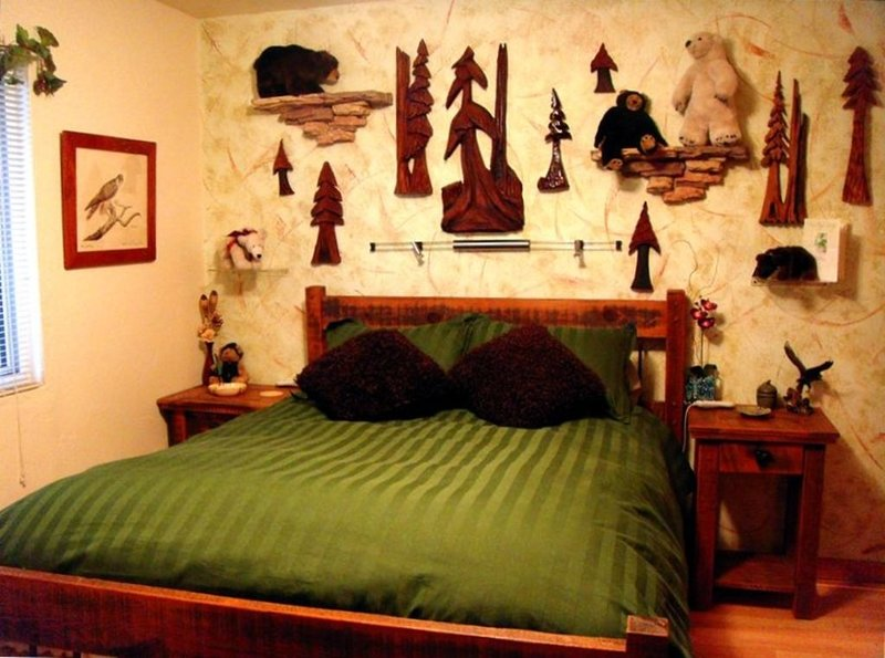 Big Bear Room - You'll Sleep Like a Baby in This Bed!
