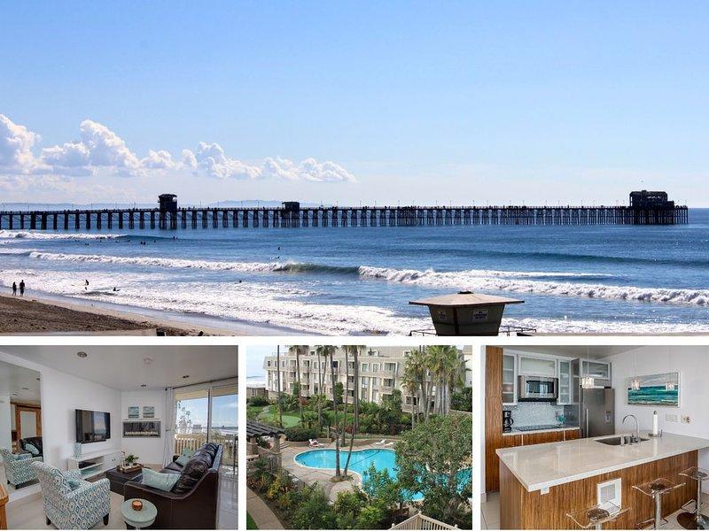 Luxury Breakwater Beach Pad (D110), vacation rental in Oceanside