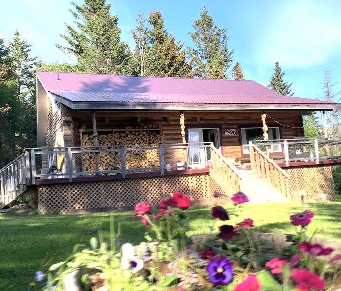 Log Home Retreat with Beautiful Glacier Views, alquiler vacacional en Seldovia