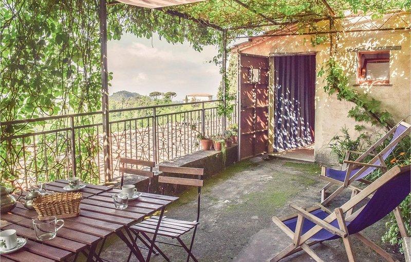 2 Zimmer Unterkunft in Gombitelli LU, holiday rental in Orbicciano