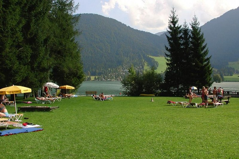 Bathing area at Walchsee