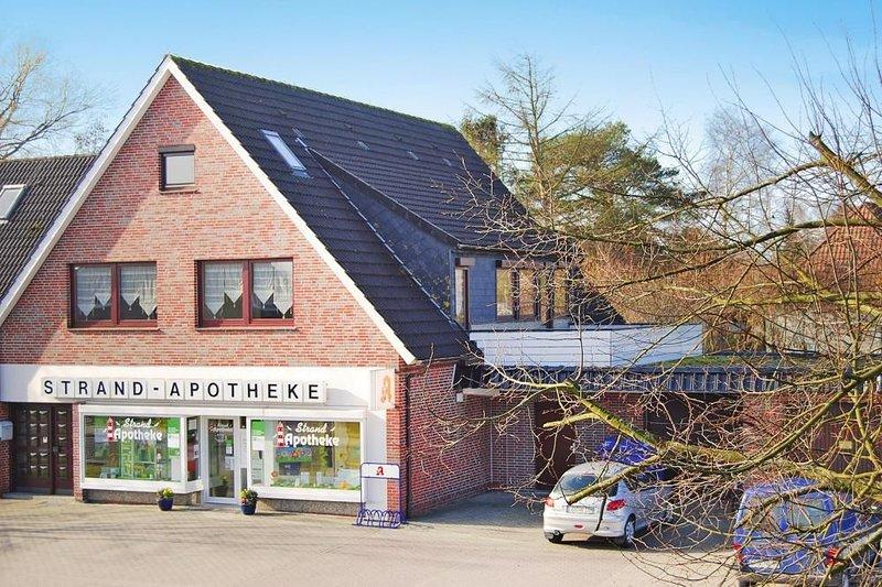 Ferienwohnung Hoddersdiek, Burhave, casa vacanza a Nordseebad Burhave