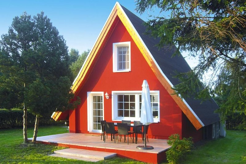 Ferienhaus Felix, Rankwitz, location de vacances à Rubkow