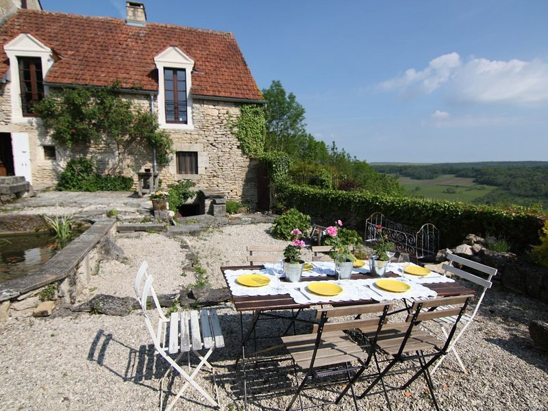 Recently renovated 17th c. stone house seen on House Hunters International., location de vacances à Flavigny-sur-Ozerain