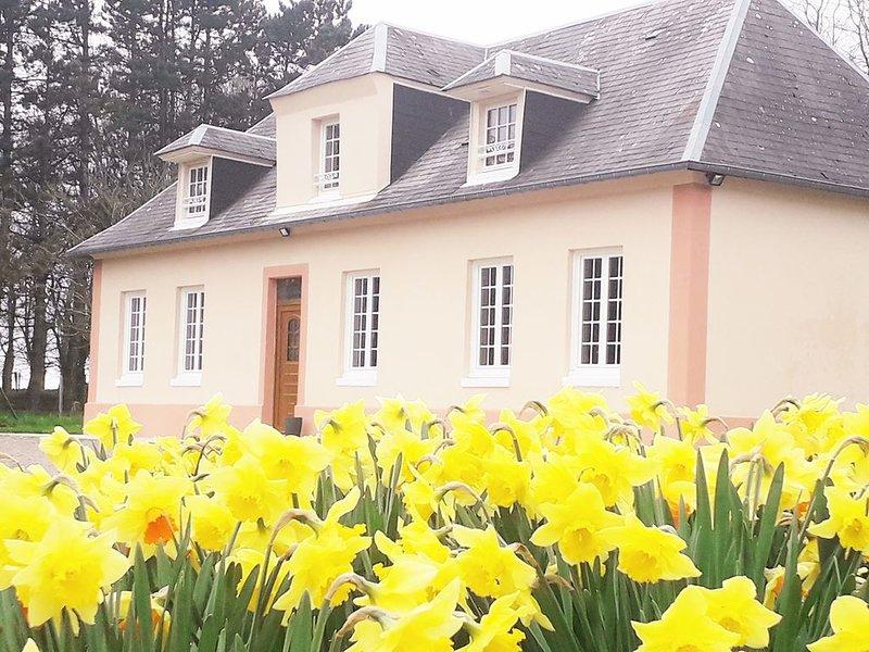 Maison de campagne 3*  tout confort à 20 min de la mer- Wifi-7 pers- jardin clos, holiday rental in Doudeville