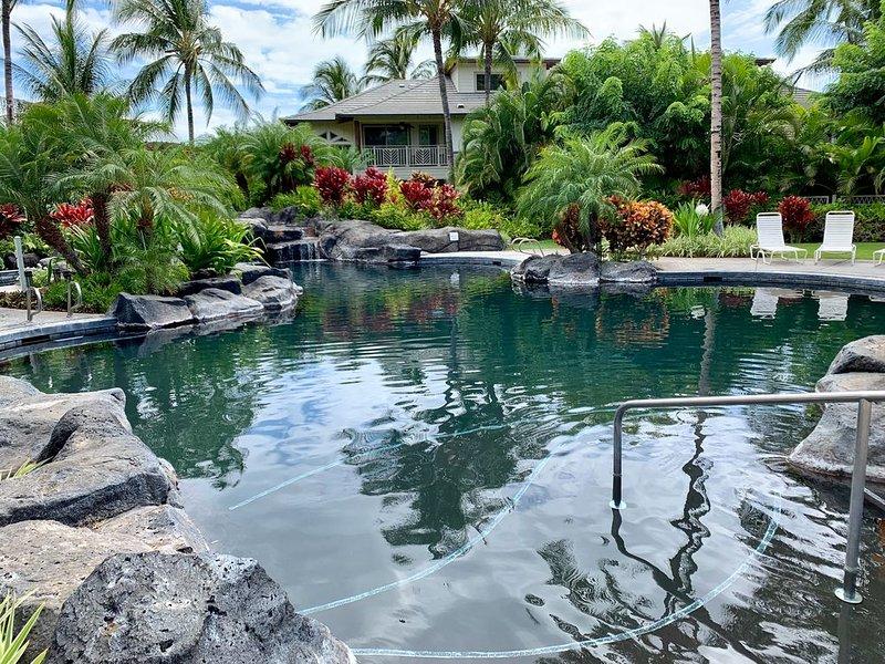 Last Minute Bargain Rates!!! -Tropical Serenity at Palm Villas Unit I-2, alquiler de vacaciones en Puako