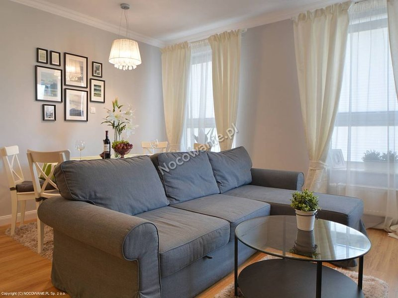 Apartments at the pond City Centre, holiday rental in Piotrkow Trybunalski