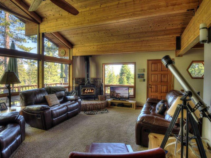 Stay cozy around the woodstove