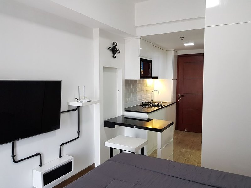 Apartment Studio, Tamansari Mahogany, Modern & Comfort – semesterbostad i Cikarang