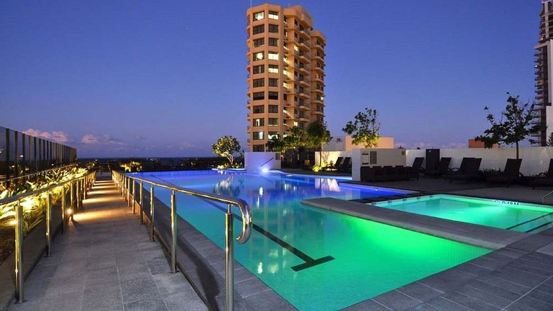 Main outdoor pool in Tower 1 - ORACLE- Broadbeach with Ocean Views