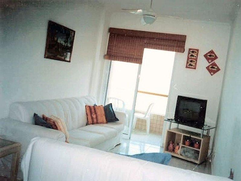 Frente pro mar, vista de todos ambientes!!, location de vacances à Praia Grande