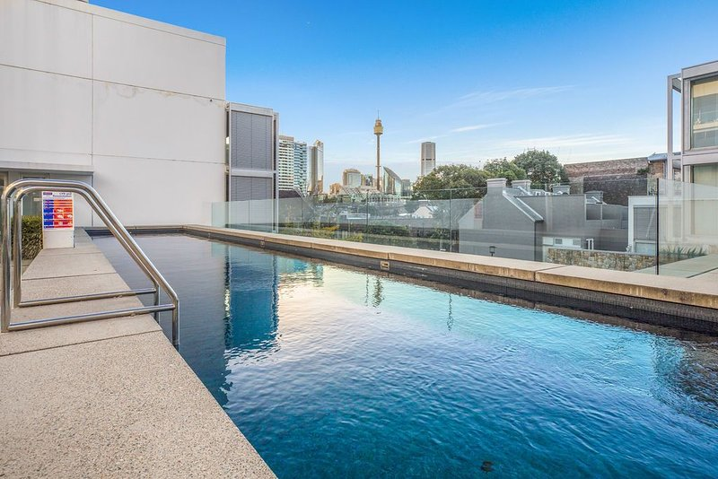 Highly rated chic inner city 1 bedder with parking, pool and gym, holiday rental in Sydney