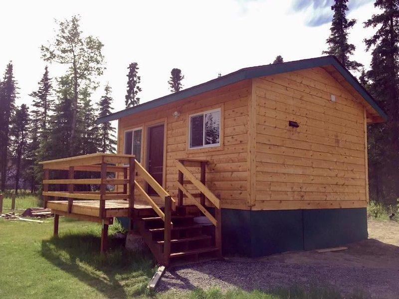 Quiet & Relaxing pet friendly Cabin #2, casa vacanza a Clam Gulch